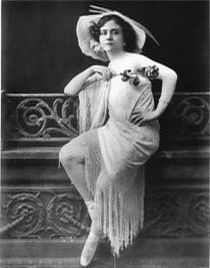Ziegfield Follies Lady - Mlle Dazie
