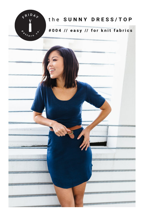 Friday Pattern Co. - Sunny Dress (PDF)